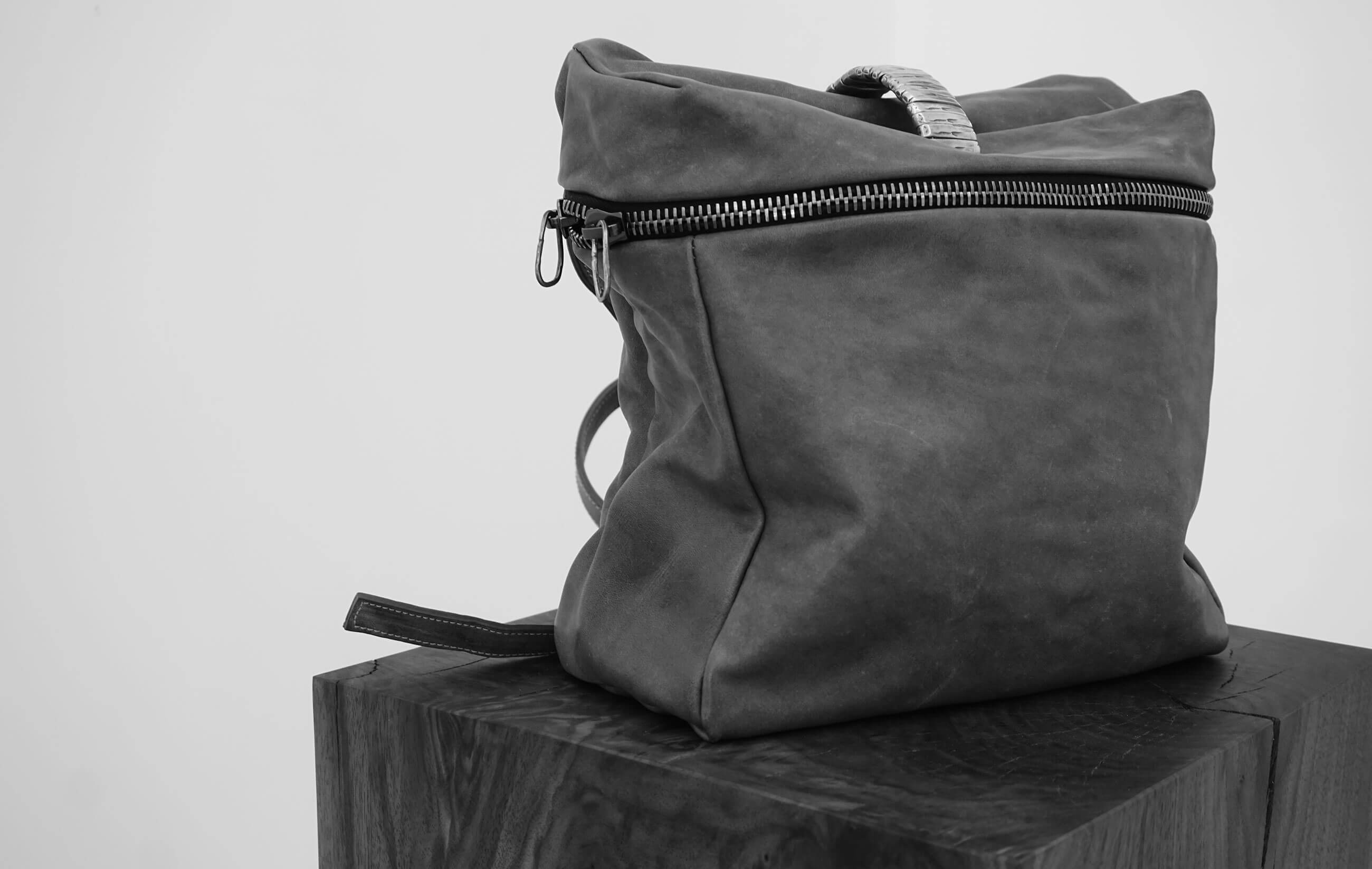 DANIELEBASTA REGINA Leather and Silver 925 Bag